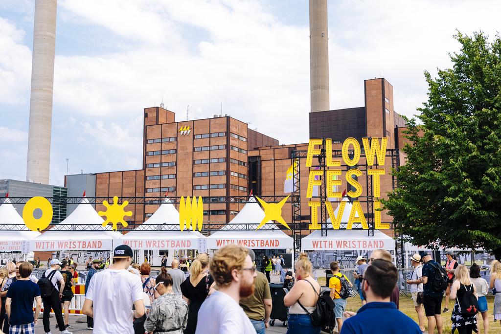 Фестиваль Flow в Хельсинки