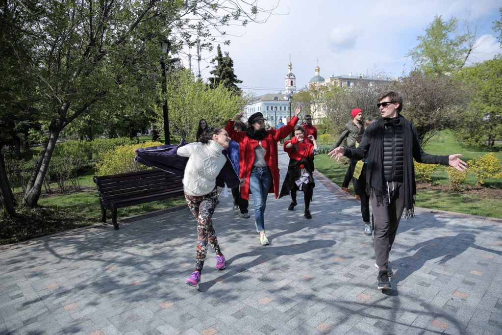 Санкт-Петербург.Dancewalk с Неопост Фуфуа